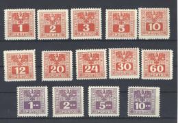 Porto Mi. Nr. 175 - 188 Postfrisch