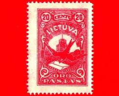 Nuovo - MNH - LITUANIA - LIETUVA - 1926 - Dove With Letter - Posta Aerea - 20