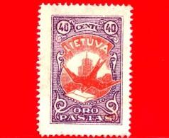 Nuovo - MNH - LITUANIA - LIETUVA - 1926 - Dove With Letter - Posta Aerea - 40