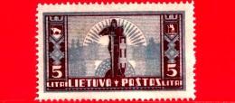 Nuovo - MNH - LITUANIA - LIETUVA - 1934 - La Prima Emissione Standard Della Nuova Valuta - Croce - 5