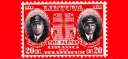 Nuovo - MNH - LITUANIA - LIETUVA - 1934 - Morte Dei Cap. Steponas Darius E Stasys Girenas - 20 P. Aerea