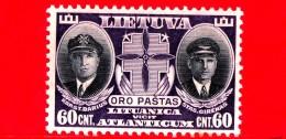 Nuovo - MNH - LITUANIA - LIETUVA - 1934 - Morte Dei Cap. Steponas Darius E Stasys Girenas - 60 P. Aerea