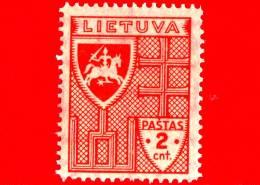 Nuovo - MNH - LITUANIA - LIETUVA - 1937 - La Prima Emissione Standard Della Nuova Valuta - Croce - 2
