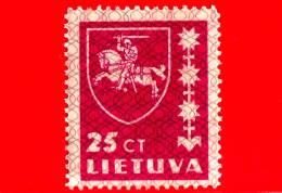 Nuovo - MNH - LITUANIA - LIETUVA - 1937 - Stemmi - Coat Of Arms - 25 Magenta