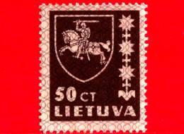 Nuovo - MNH - LITUANIA - LIETUVA - 1937 - Stemmi - Coat Of Arms - 50
