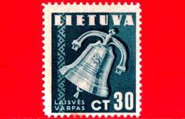Nuovo - MNH - LITUANIA - LIETUVA - 1940 - Per La Libertà - Campana - 30