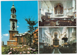 ORGEL / ORGUE / ORGAN: Hamburg: ORGEL, Altar - St. Michaeliskirche - (Deutschland) - Musica E Musicisti