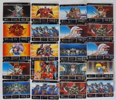 SD Gundam Gaiden Kikou Shin Densetsu : 20 Japanese Trading Cards - Trading Cards