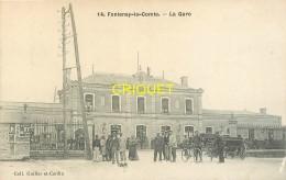 85 Fontenay Le Comte, La Gare, N°2, Charrettes,..... - Fontenay Le Comte