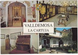 PIANO : Valldemossa - Capella, Biblioteca Y Jardines Celda Prioral Y Celda Chopin - CHOPIN 'S PIANO - (Mallorca, Espana) - Musica E Musicisti