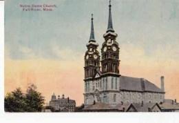 Etats Unis  Mass  - Fall River - Notre Dame Church : Achat Immédiat - Fall River