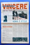 Fascismo - Passo Romano Vincere - Giornale Della Gioventù Italiana Del Littorio - 10 Novembre 1941 - Libri, Riviste, Fumetti
