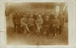 CARTE PHOTO - CAMP DE PRISONNIER EN ALLEMAGNE - LAGER PUCHHEIM VII - GEPRÜFT F. A. - Guerre 1914-18
