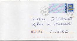 2006--beau Cachet Rond ROBERT-ESPAGNE -55- Meuse  Sur Entier PAP France 20g - Marcophilie (Lettres)