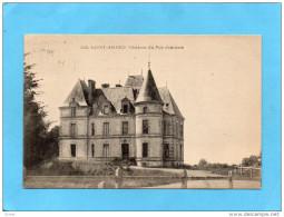SAINT AMAND-Chateau Du Puy Jourdain -a Voyagé En 1932-édition Jehli Poupin - France