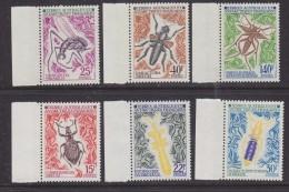 TAAF 1972 Insects 6v (+margin) ** Mnh (33068H) - Franse Zuidelijke En Antarctische Gebieden (TAAF)