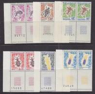 TAAF 1972 Insects 6v (pair +margin) ** Mnh (33068M) - Franse Zuidelijke En Antarctische Gebieden (TAAF)