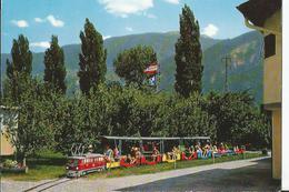 CPSM - - Suisse - Schweiz - -  LValais - Le Petit Train Camping De Saint Léonard - VS Valais