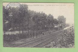 MAIRY SUR MARNE : Le Pont De La Marne Et La Halte Ferroviaire. Gare Chemin De Fer. 2 Scans. Edition Guerin - Otros Municipios