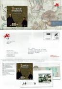COMMUNICATION SERVICE PHILATÉLIQUE PORTUGAL ÉMISSION DES TIMBRES - THE JESUITS, GLOBALISATION - LEAGUE AGAINST CANCER