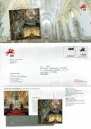 COMMUNICATION SERVICE PHILATÉLIQUE PORTUGAL ÉMISSION DES TIMBRES - CATHEDRALS - LUBRAPEX