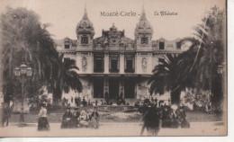 CPA - MONTE CARLO - LE THEATRE - ANIMEE - Monte-Carlo