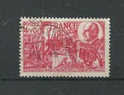 FRANCIA 1944 - YV 608 88 Aniv. Maréchal Petain