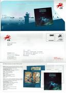 COMMUNICATION SERVICE PHILATÉLIQUE PORTUGAL ÉMISSION DES TIMBRES - THE MAR OCEANO TO PORTUGUESE SEA - CHRISTMAS MAGIC - Geografía
