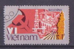 62-375 // VIETNAM  - 1986  VI CONGRESS Of The VIETN. COMM. PARTY  Mi 1736 C  Perf. 12,5  O - Vietnam