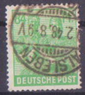 62-442 // D -   1947-1948   FREIMARKEN  Mi 958 O - Zona AAS