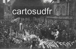 53 SAINT MARTIN DE CONNEE - HOMMAGE A SAINTE THERESE 1er SEPTEMBRE1929 - LOT DE  8 CARTES PHOTO SUPERBES - Altri Comuni