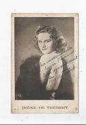 IRENE DE TREBERT CARTE AVEC AUTOGRAPHE - Autographs