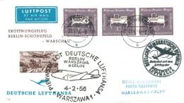 Bund 228 MEF Sauber Auf LP- Ausl.- Drucksache Von Freudenstadt 1956 N. Warschu, Polen