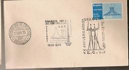 Brazil & FDC X Anniversary, Congress Palace, Brasilia 1970 (83)