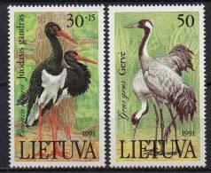 Lituanie - Lietuva - 1991 - Yvert N° 420 & 421 **