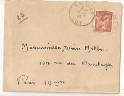 SALVIAC Lot Sur Enveloppe. 1945. - France