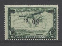 Belgisch Congo Luchtpostzegel Met Omgekeerde Opdruk - Poste Aérienne: Neufs