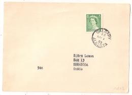 CALGARY ALBERTA CANADA TO SWEDEN. Suède. 1953. Levande Livet.