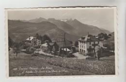 CPSM VOLLEGES (Suisse-Valais) - CHEMIN DESSUS : Les Hôtels, L'Arpille Le Luisin Et Les Dents Du Midi - VS Wallis