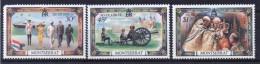 Montserrat Set Of Stamps To Celebrate The Silver Jubilee. - Montserrat
