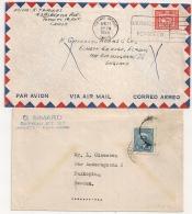 2 COVERS TORONTO, GARNEAU TO SWEDEN And ENGLAND. - 1952-.... Règne D'Elizabeth II