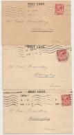 3 POST CARDS LONDON TO SWEDEN. Alexr. Von Glehn & Co. Ltd. 1921. - 1902-1951 (Kings)