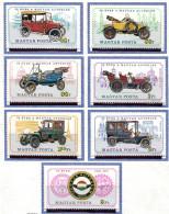 """Hongrie ** N° 2425 à 2431 - Fondation """"Magyar Autoklub"""". Automobiles Anciennes -"""