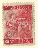 1914 Vignette Patriotique - Erinnofilie