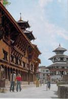 Asie NEPAL   Darbar Square KATHMANDU (Place Du Darbâr Katmandou)(cycle Vélo Cycliste)*PRIX FIXE - Népal