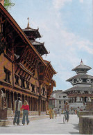 Asie NEPAL   Darbar Square KATHMANDU (Place Du Darbâr Katmandou)(cycle Vélo Cycliste)*PRIX FIXE - Nepal