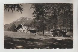 """CPSM MARTIGNY, SEMBRANCHER (Suisse-Valais) - Café Tea Room Du Col Des Planches 1409 M """"Le Catogne""""R. HENCHOZ Propr. - VS Wallis"""