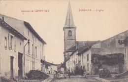 Cpa-54-einville -animée -eglise- - Andere Gemeenten