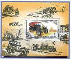 Mongolie ** Bloc N° 115 - Automobiles Anciennes -