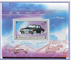 Mongolie ** Bloc N° 137 - Automobile -